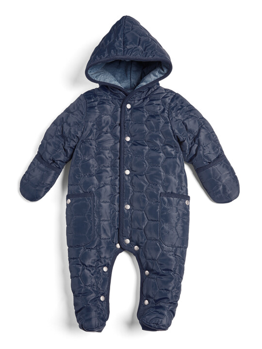 Quilted Pramsuit image number 1